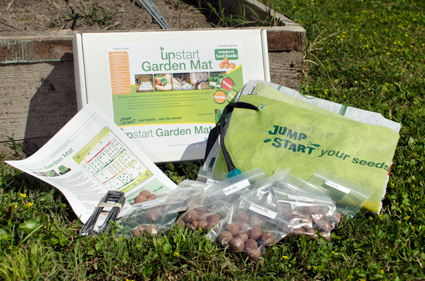 garden mats. the upstart garden mat is an all-in-one kit that jump starts your mats a
