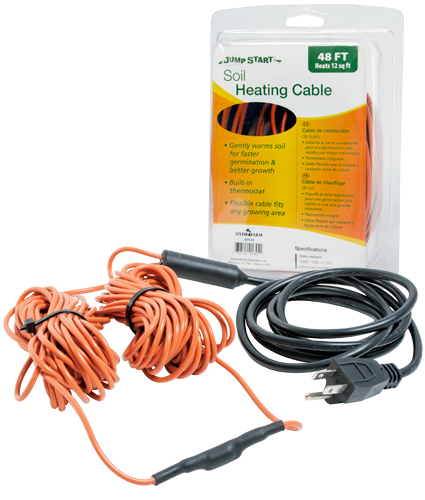 Jump Start Soil Heating Cables