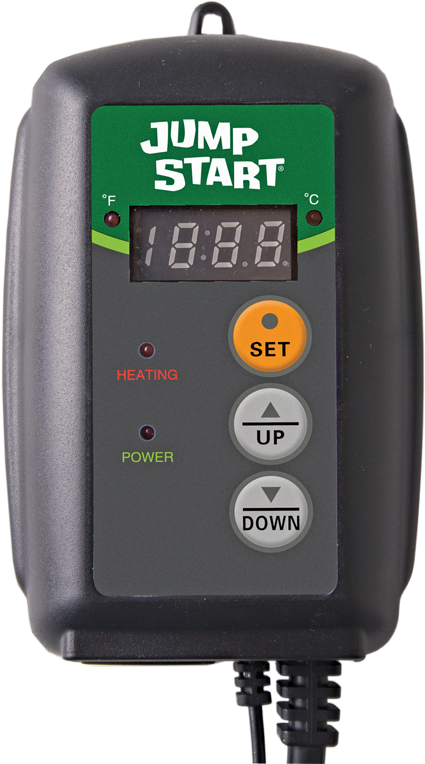 Jump Start Digital Temperature Controller for Heat Mats